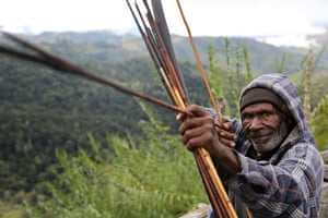A local man from Namasaro, Papua New Guinea