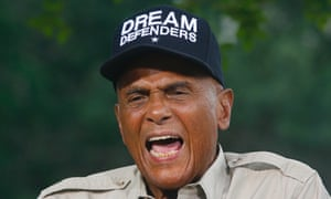 American singer, songwriter, actor and social activist Harry Belafonte
