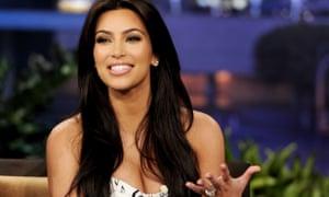 Kim Kardashian on the Tonight Show with Jay Leno in 2011