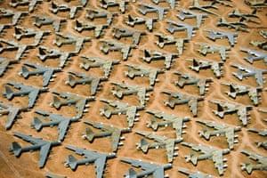 B-52 Bone Yard, Tuscon, Arizona, USA