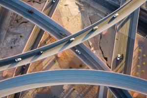 Over ramps, Albuquerque, New Mexico, USA 2008