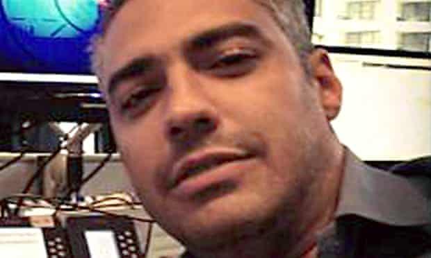 Al-Jazeera's arrested Cairo bureau chief, Mohamed Fahmy