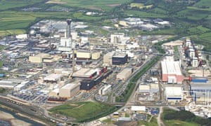 Sellafield nuclear reprocessing facility