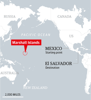 Map - Marshall Islands locator