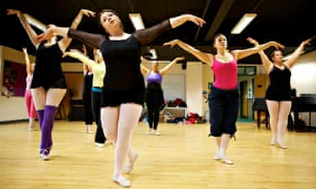 Big Ballet C4 Hannah Baines and dancers