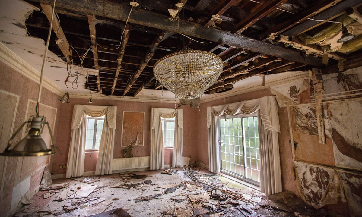 the bishops avenue derelict mansions in pictures