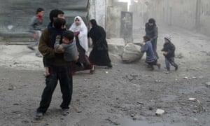 Aleppo Syria air strike