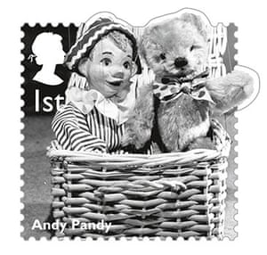 stamps: Andy Pandy