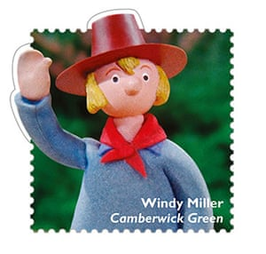 stamps: Camberwick Green
