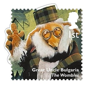 stamps: The Wombles