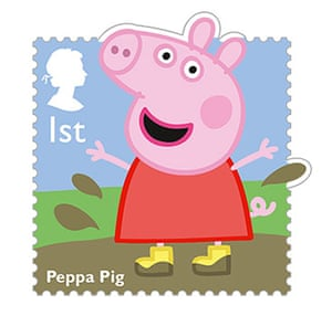 stamps: Peppa Pig