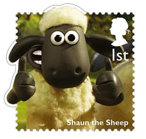 stamps: Shaun The Sheep