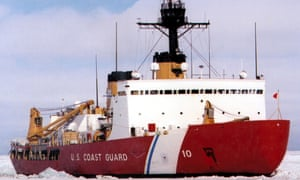 The Polar Star, the latest ship involved in the Antarctic rescue.