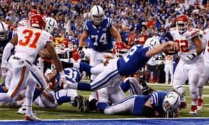 Andrew Luck touchdown
