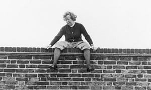 Joan Littlewood on the roof of the Theatre Royal, Stratford, 1973