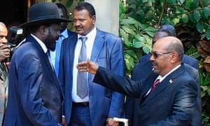 President Kiir and president al-Bashir