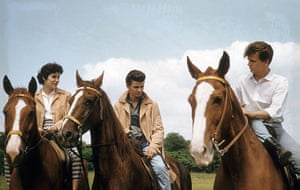 Phil Everly: Phil on the right with Don and his girlfriend, circa 1960