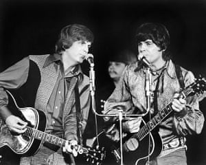 Phil Everly: The Everly Brothers performing at Caesars Palace, Las Vegas, 1970