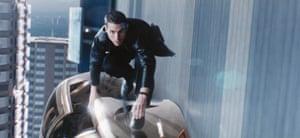 MINORITY REPORT (2002) (dir. Steven Spielberg)