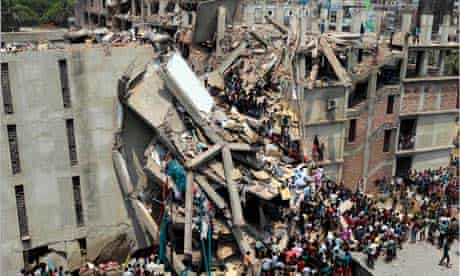 Dhaka factory collapse