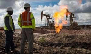 North Dakota drilling
