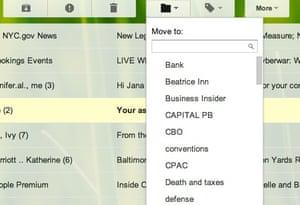 email mailbox organize