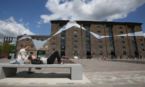 Private public … Granary Square in Kings Cross is the shape of 'public space' to come.