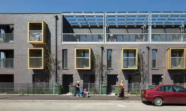 Social housing … 2014 will see more local authorities building homes, like this scheme in Newham by Bell Phillips