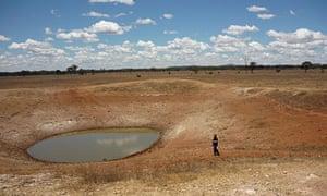 Springvale drought dam