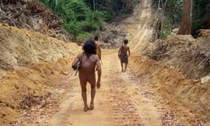 Awa tribespeople in Brazil
