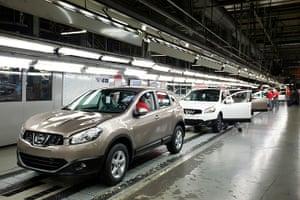 Top selling cars 2013: Nissan Qashqai, Juke and Note models,