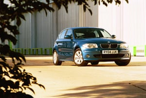 Top selling cars 2013: BMW 1 series car on a test drive