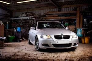 Top selling cars 2013: Silver BMW 3 series 2 litre liter diesel