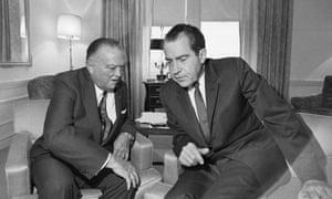 J Edgar Hoover and Richard Nixon