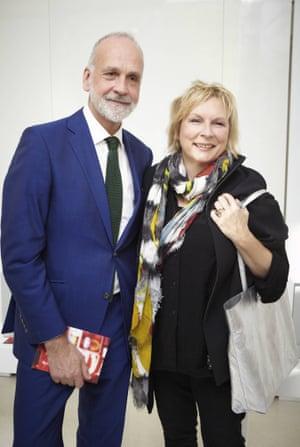 Richard James and Jennifer Saunders