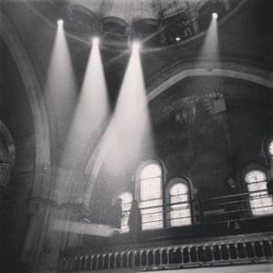 The Welsh Chapel venue for Alexander McQueen