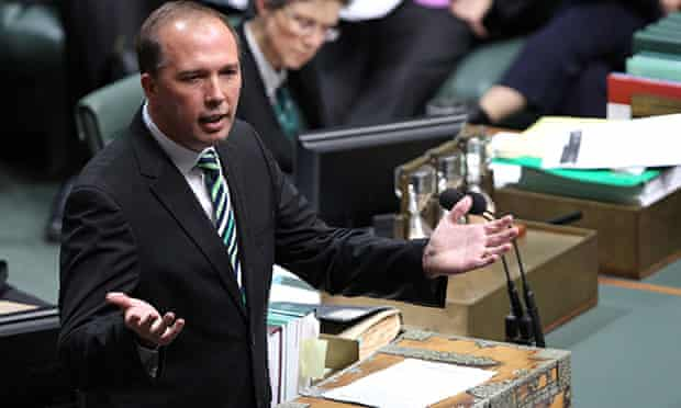 Minister for Health Peter Dutton