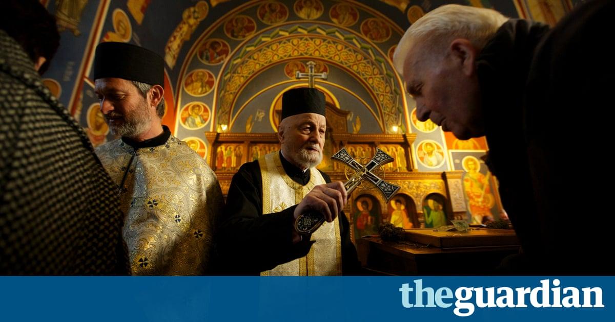 serbian orthodox christmas liturgy in birmingham in. Black Bedroom Furniture Sets. Home Design Ideas