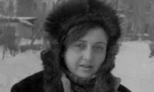 Regina Derieva in Karaganda, Kazakhstan, in 1972