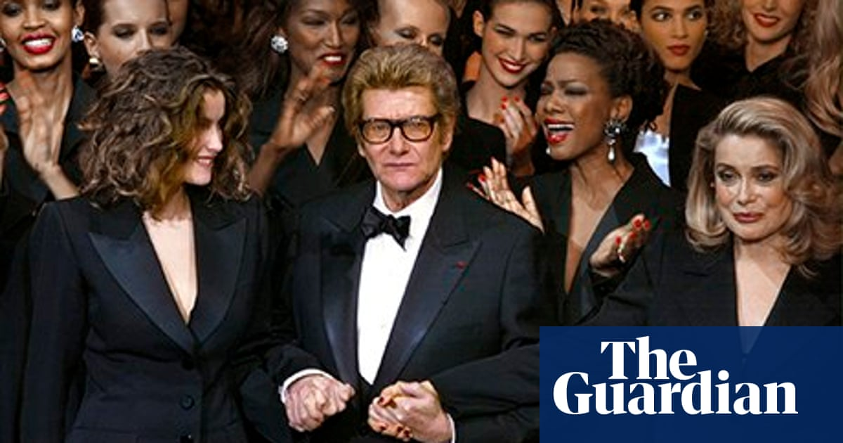 1d6c31dc094 Yves Saint Laurent says adieu to couture: Fashion archive   From the ...