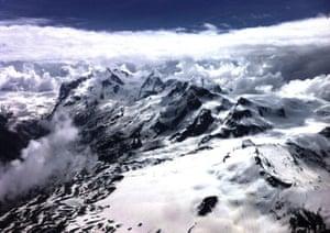 Monte Rosa massif, Switzerland