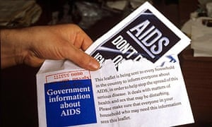 GOVERNMENT AIDS INFORMATION LEAFLETS, BRITAIN - 1987