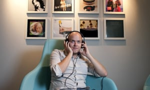 Daniel Ek of Spotify in his office in central London