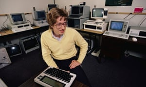 Bill Gates photographed in 1983 in Washington