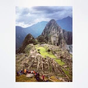 Early morning Machu Picchu