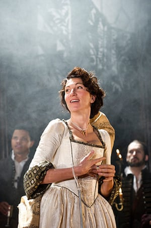Duchess of Malfi: Eve Best in The Duchess of Malfi at the Old Vic, London, 2012