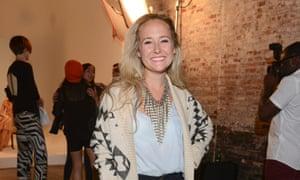 Alexa Von Tobel at Mercedes Fashion Week