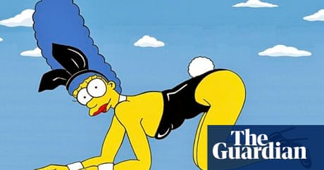 Naughty and naked the simpsons strip off art and design the guardian - Marge simpson nud ...