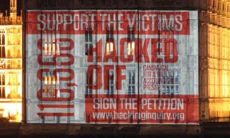 Hacked Off campaigns during the Leveson inquiry