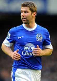 Thomas Hitzlsperger in his Everton days
